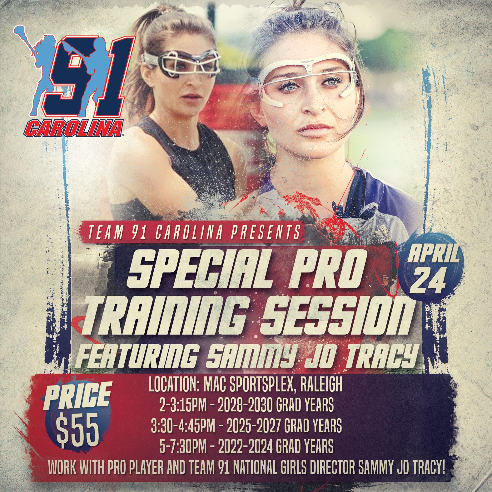 2021-Team91Carolina-SammyJo-Training_v1
