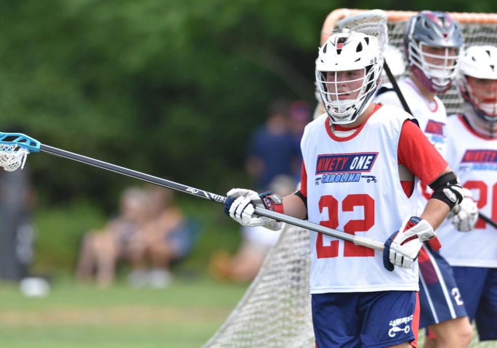 Noah Arneson Standing Near Goal